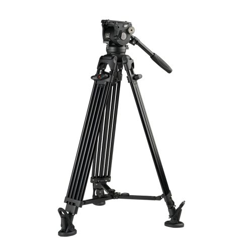 E-Image EG08A2 Aluminum Tripod Kit with GH08 Head by E-Image