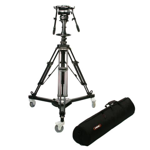 E-Image EI-GH25-KIT Pedestal, Includes AT7903 Base/Dolly & GH25 Head by E-Image