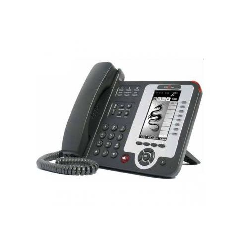 ESCENE ES610-PE IP PHONE (PoE, 8 VoIP Accounts, HD graphic LCD Display) by Escene