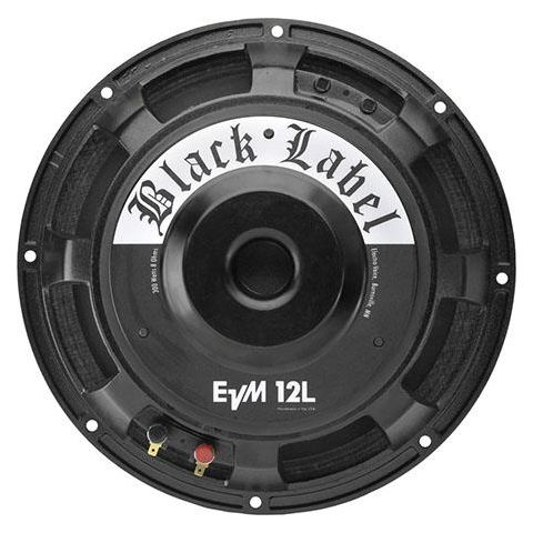 "Electro-Voice EVM12L BlackLabel Zakk Wylde Signature 12"" Guitar Speaker, 80-7000Hz Frequency Response, 300 Watts, 100 dB Sensitivity, 8 Ohms Impedance, Single by Electro-Voice"