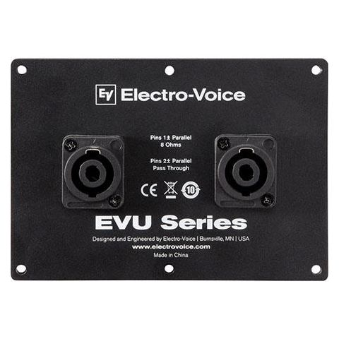 Electro-Voice EVU-CDNL4 Dual NL4 SpeakOn Cover Plate for EVU Loudspeaker System by Electro-Voice