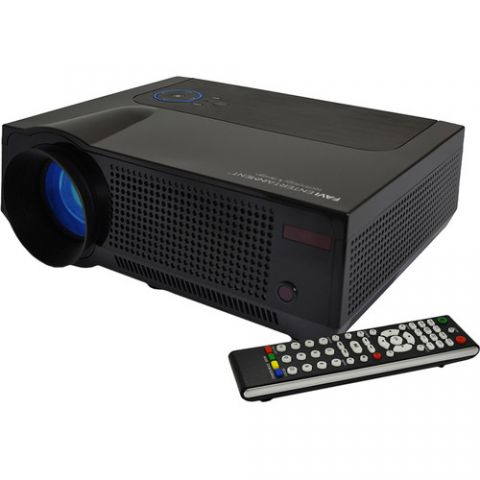Favi Entertainment RIOHD-LED-4T HD LCD Home Theater Projector by Favi