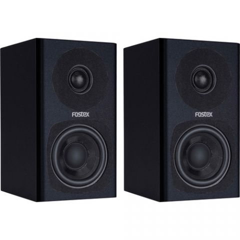 Fostex PM0.3 2-Way Powered Monitor Speaker System (Black) by Fostex