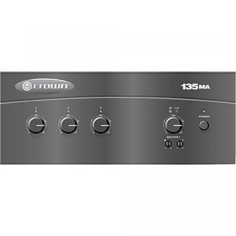 Crown Audio G135MA 3x 35W mixer-amplifier by Crown