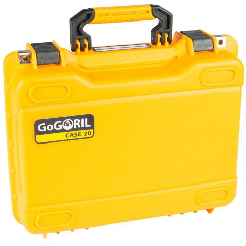 GoGORIL G20 Hard Case (No Foam, Yellow) by GoGoril