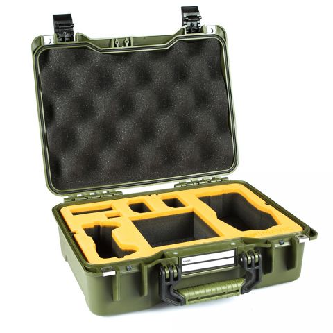 GoGORIL G20 Hardcase with Foam for DJI Mavic Pro Drone (Green) by GoGoril