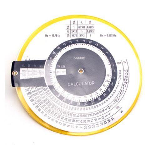 Gossen Calculator for Panlux 2 by Gossen