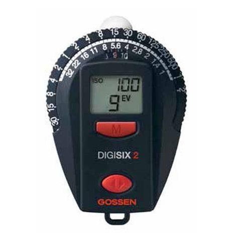 Gossen Digisix 2 Light Meter, SBC Photodiode Light Sensor by Gossen