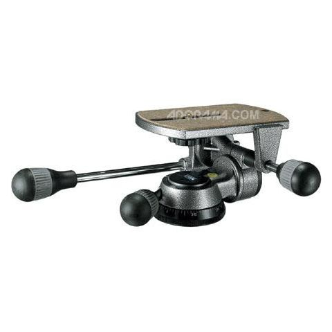 Gitzo G1570M Magnesium Low Profile 3-Way Pan Tilt Head - Supports 22 lbs. by Gitzo