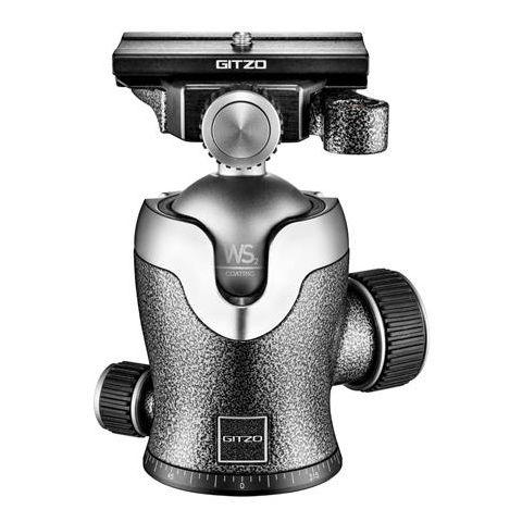 """Gitzo Series 3 Quick Release D GH3382QD Aluminum Center Ball Head, 5"""" Maximum Height by Gitzo"""