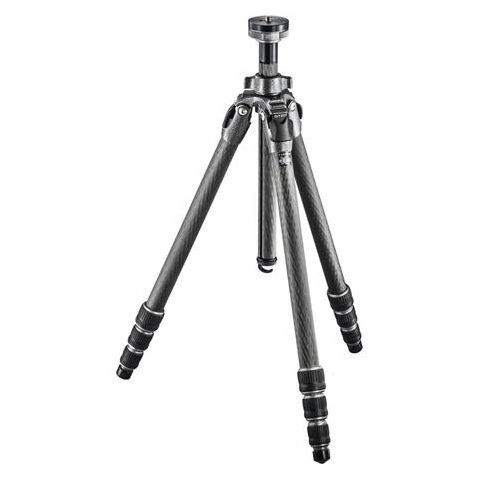 "Gitzo GT2543L Mountaineer Series 2 Carbon Fiber 4 Sections Tripod, Long, 70.47"" Max Height, 39.68lbs Load Capacity by Gitzo"