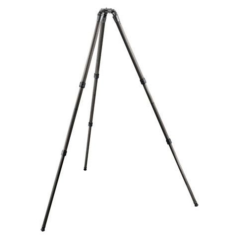 "Gitzo GT3532LS Series 3 6x Systematic 3 Section Long Carbon Fiber Tripod, Supports 25kg (55.11lbs), Max Height 58"" by Gitzo"