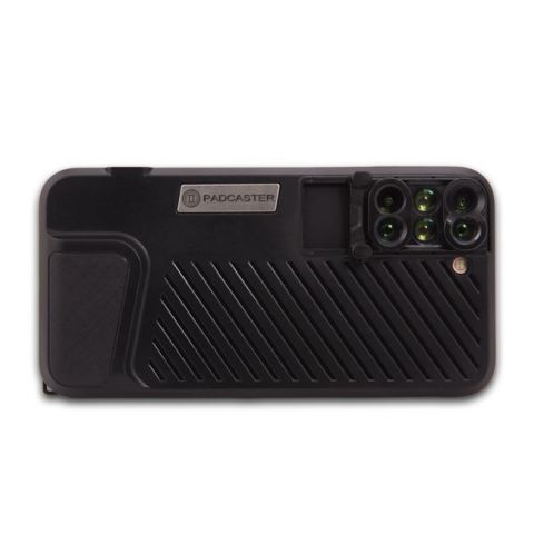 Padcaster PCVLC78P 6-in-1 Lens Case for iPhone 7 Plus/8 Plus by Padcaster
