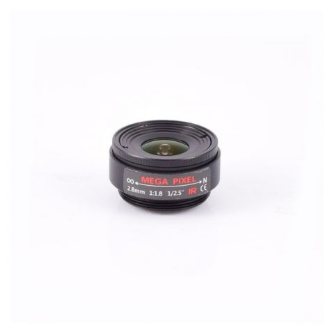 AIDA Imaging CS-2.8F CS Mount 2.8mm Fixed Focal Mega-Pixel Lens by AIDA Imaging