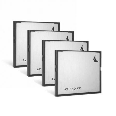 Angelbird AVP128CFX4 AVpro CF 128 GB | 4 PACK by Angelbird
