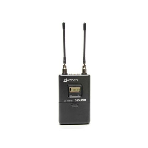 Azden 310UDR UHF Single-Channel Diversity Receiver by Azden