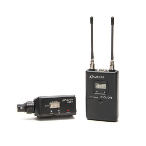 Azden 310XT UHF Wireless Mic System with XLR Plug-in Transmitter by Azden
