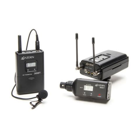 Azden 330LX UHF Dual-Channel Wireless with Beltpack and XLR Plug-in by Azden