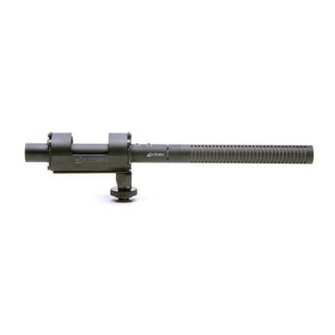 Azden SGM-1X Battery-Powered Shotgun Microphone with XLR Output by Azden