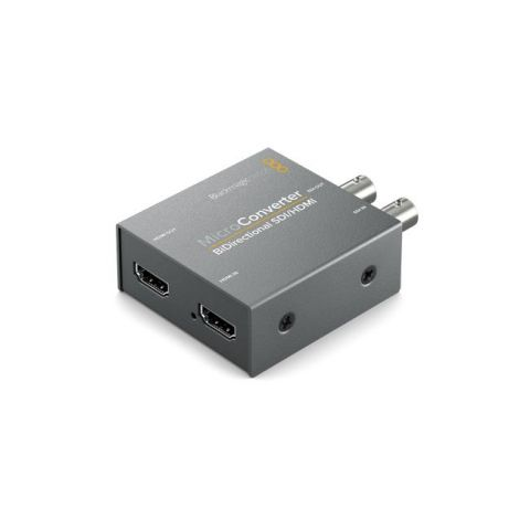 Blackmagic Design CONVBDC/SDIHDWPSU Micro Converter - BiDirectional SDI/HDMI with Power Supply by Blackmagic Design