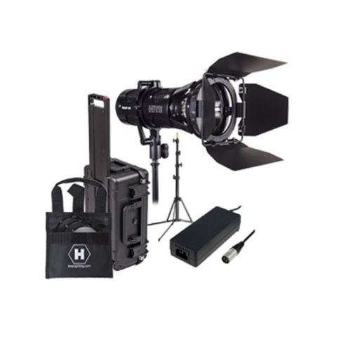 Hive Lighting WLS1C-1LTKIT Wasp 100-C LED Spot 1 Light Travel Kit with Stand and Case (Custom Foam and Padded Dividers) by Hive Lighting