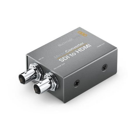 Blackmagic Design CONVCMIC/SH Micro Converter - SDI to HDMI (No Power Supply) by Blackmagic Design