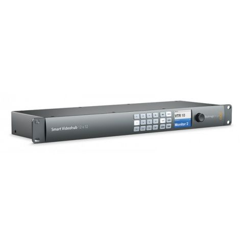 Blackmagic Design VHUBSMART6G1212 Smart Videohub 12x12 by Blackmagic Design