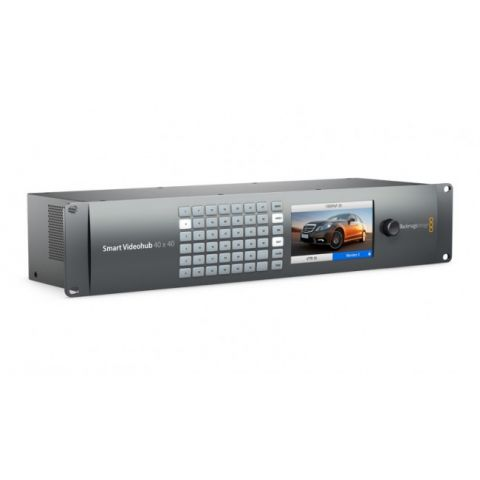Blackmagic Design VHUBSMART6G4040 Smart Videohub 40x40 by Blackmagic Design