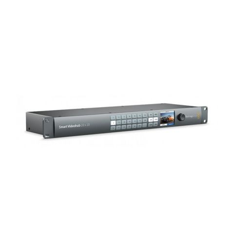 Blackmagic Design VHUBSMART6G2020 Smart Videohub 20x20 by Blackmagic Design