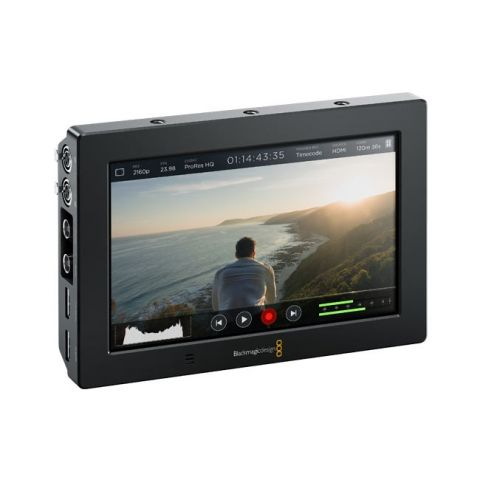 "Blackmagic Design HYPERD/AVIDAS74K Video Assist 4K 7"" Recording Monitor by Blackmagic Design"