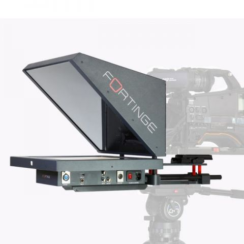 Fortinge ERA 17 17'' Studio Prompter Set with SDI Input & Output, Tally & Talent Monitor by Fortinge