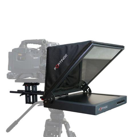Fortinge 15'' Studio Prompter Set with HDMI, VGA, BNC, SDI Input by Fortinge