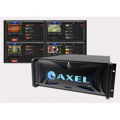 Axel YOUPLAY SERVER 4CH-NS Broadcast & Production Video Server by Axel