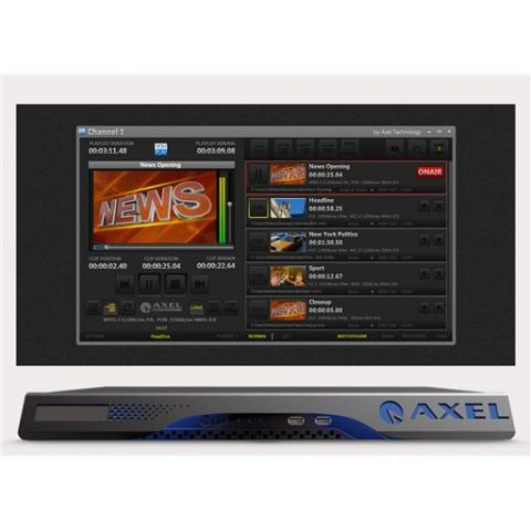 Axel YOUPLAY COMPACT 1CH-2TB Multiformat Video Player by Axel