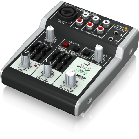 Behringer XENYX 302USB 5-Input Compact Mixer and USB Interface by Behringer