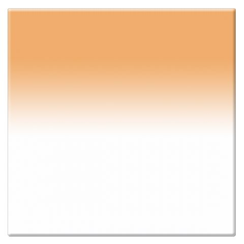 "Tiffen  4 x 4"" 2 Tangerine Soft-Edge Graduated Filter by Tiffen"