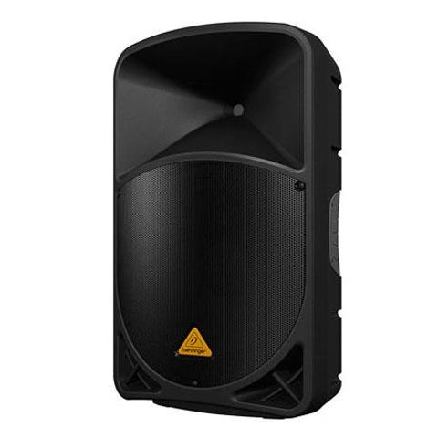 """Behringer EUROLIVE B115D Active 1000-Watt 2-Way 15"""" PA Speaker System with Wireless Option and Integrated Mixer by Behringer"""
