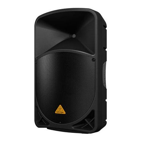 """Behringer EUROLIVE B115MP3 Active 1000-Watt 2-Way 15"""" PA Speaker System with MP3 Player,  Wireless Option and Integrated Mixer by Behringer"""