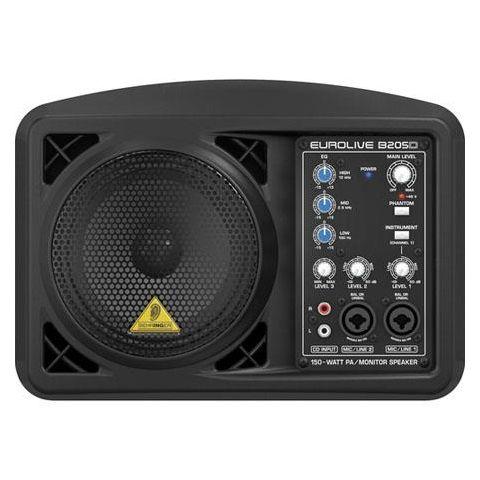Behringer Eurolive B205D Multi-purpose 150 Watt Active PA and Monitor Speaker System by Behringer