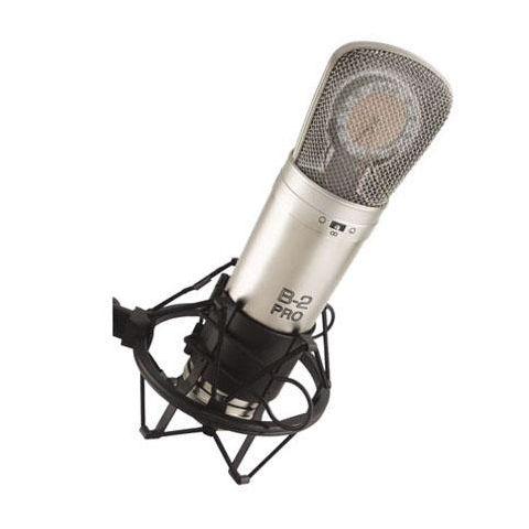 Behringer B-2 PRO Gold-Sputtered Large Dual-Diaphragm Studio Condenser Microphone by Behringer