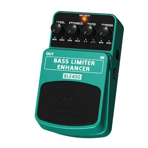 Behringer BLE400 Bass Limiter/Enhancer Effects Pedal,  Energy-Saving On/Off Switching by Behringer