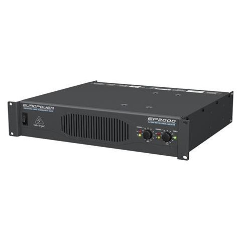 Behringer Europower EP2000 2000 Watt Stereo Power Amplifier with Accelerated Transient Response,  2x 1000W into 2 Ohms,  2x 750W into 4 Ohms,  2000W into 4 Ohms by Behringer