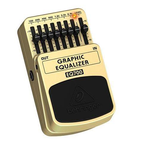 Behringer EQ700 Ultimate 7-Band Graphic Equalizer,  500kOhms Input/1kOhms Output Impedance by Behringer
