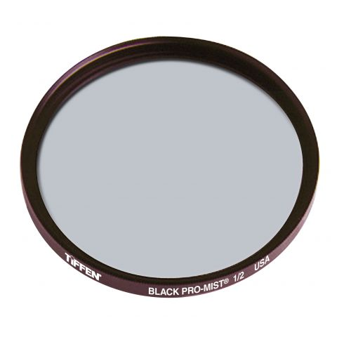 Tiffen  105mm Coarse Thread Black Pro-Mist 1/2 Filter by Tiffen