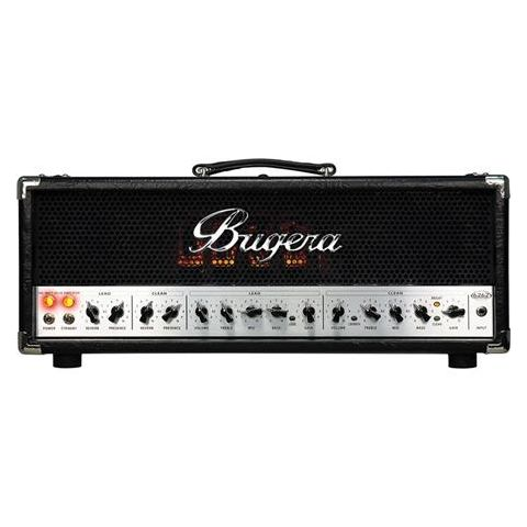 Bugera 6262 Infinium Ultimate Rock Tone 120W 2-Channel Tube Amplifier Head with Reverb and Infinium Tube Life Multiplier