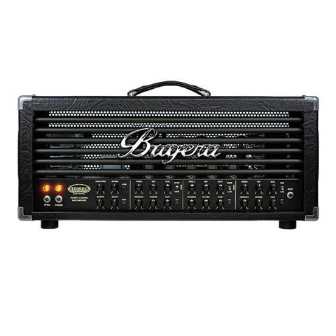 Bugera TRIREC Infinium Boutique-Style 100 Watt 3-Channel Tube Amplifier Head with Infinium Tube Life Multiplier, Tri-Mode Rectifier, Reverb and VARIPOWER