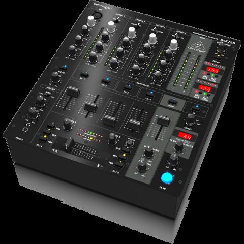 Behringer DJX-750 Professional 5-Channel DJ Mixer by Behringer