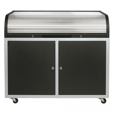 Chief Steel Elite Roll Top Desk by Chief