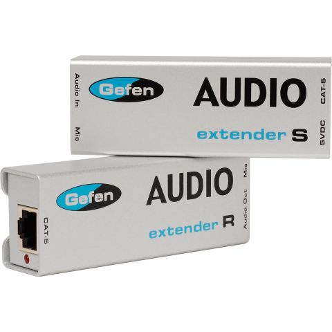 Gefen EXT-AUD-1000 Analog Audio Extender Over Cat-5 Cable 1000ft by Gefen
