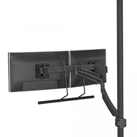 Chief Kontour'Ñ¢ K1P Dynamic Pole Mount, Dual Monitor Array by Chief